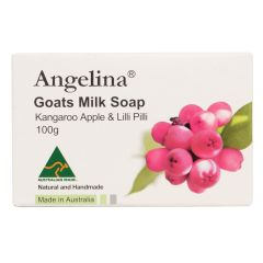 Angelina - Goats Milk Soap Kangaroo Apple & Lilli Pil PC2631