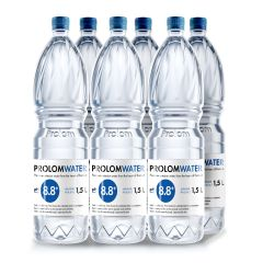 Prolom Water - Alkaline water PH8.8 (1.5L) - Case Offer PLAP015