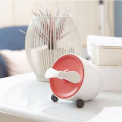 POUT - EARS1 Portable Bluetooth Speaker w/mini fan POUT_EARS1