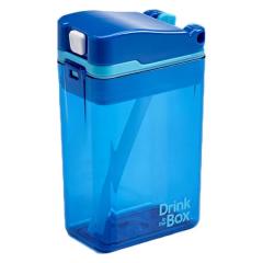 Precidio - Drink in the Box 吸管杯 (8安士) - 藍色