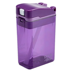 Precidio - Drink in the Box 吸管杯 (8安士) -紫色