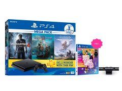 PlayStation®4「MEGA PACK」套裝及PlayStation®Camera 送 PlayStation®4《Just Dance 舞力全開2020》遊戲軟件