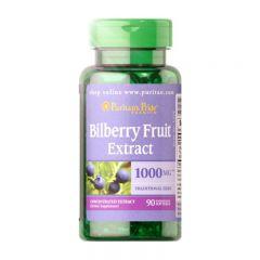 Puritan's Pride 山桑子(藍莓)萃取物 250毫克 90粒 (EXP Date: 3/20) Puritan1434