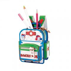 Robotime - DIY DESK ORGANIZER Backpacker TG12 Penholder
