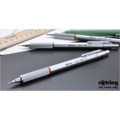 rOtring 德國名牌‧筆具專家 Rapid Pro 鉛芯筆 2.0mm 銀