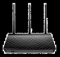 ASUS RT-AC66U_B1 雙頻 Wireless-AC1750  Gigabit 無線路由器