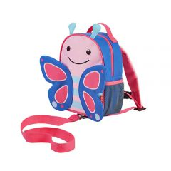 Skip Hop - Zoo-let Mini Backpack With Rein - Butterfly SH212202