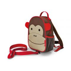 Skip Hop - Zoo-let Mini Backpack With Rein - Monkey SH212203