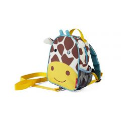 Skip Hop - Zoo-let Mini Backpack With Rein - Giraffe SH212258