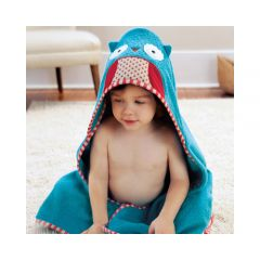 Skip Hop - Zoo Hooded Towel - Owl SH235253