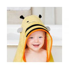Skip Hop - Zoo Hooded Towel - Bee SH235256