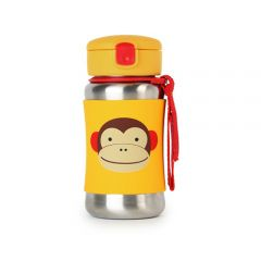 Skip Hop - Zoo Stainless Steel Bottle - Monkey SH252512