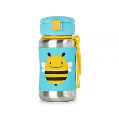 Skip Hop - Zoo Stainless Steel Bottle - Bee SH252514