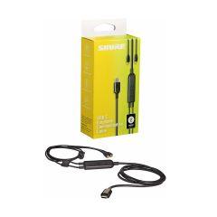 Shure RMCE‐USB 帶線控USB-C MMCX 升級耳機線 SHURE_RMCE_USB