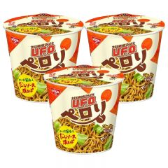 [ DIRECT FROM JP] U.F.O. Squid Sauce Fried Noodles 74g x 3cups SKU_07792_3