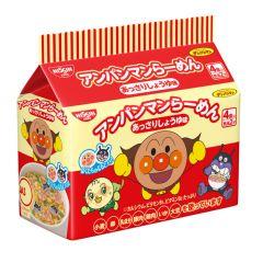 [ DIRECT FROM JP] Nissin Anpanman Ramen Dim Sum Sauce Mini Noodles (4packs in) 117g SKU_07827