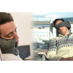 Convene 二合一眼罩U型頸枕