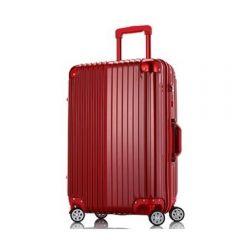 Wescott Plus 拉鍊硬殼行李箱 (紅色)