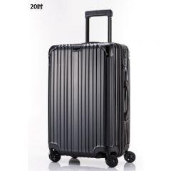 Wescott Plus 拉鍊硬殼行李箱 (黑色)