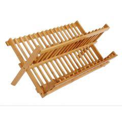 Convene - 摺疊式楠竹碗瀝水架