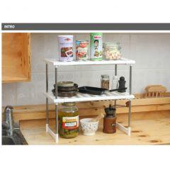 Convene - 兩層廚房置物收納架