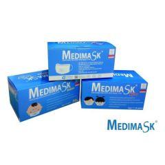 Medi Mask - 3 PLY Disposable Hygienic Kids Face Mask (50 Pcs/ Box) x 3 pcs (Random color) (Non-Individual package) SL20200118001