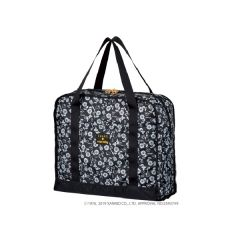 SWANY x HELLO KITTY Handle Sack - FLORAL MONOGRAM Black (M) SWT-33691