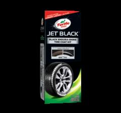 純黑輪胎鍍膜組合