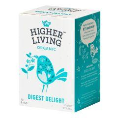 Higher Living -  Organic Teas Digest Delight  TB-HLDD415