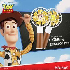 InfoThink 玩具總動員系列行動x桌上兩用風扇