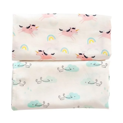Tiny Twinkle - Swaddle Blanket 2pcs Set - Cloud/Unicorn TT-1133