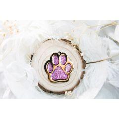 Therese Pet Accessories 閃粉滴膠大掌印 VTGP002-Taro