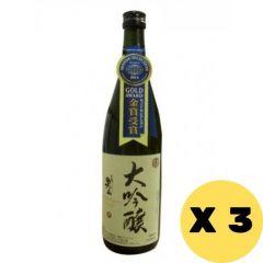 Morita Owari Otokoyama Seishu Sake 720ml x 3 W00182_3