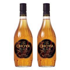 Choya - The Black Umeshu 720ml x 2 W00358_2