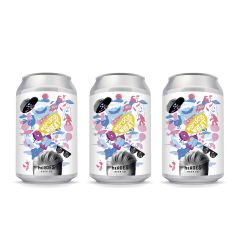 Heroes Hangry Donut Hopiscus Wheat 330ml x3 W00370