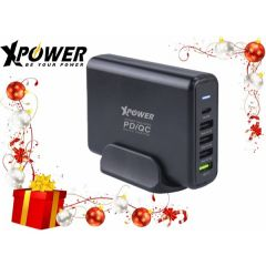 XPower DC5PD 75W PD/QC 快充充電器(支援iPhone 11