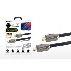 Xpower 1.2M 4K高清鋅合金 HDMI 連接線(XP-HDMIZN) XP-HDMIZN