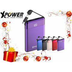 XPower PB8A 8000mAh Power Bank-Blue XP-PB8A