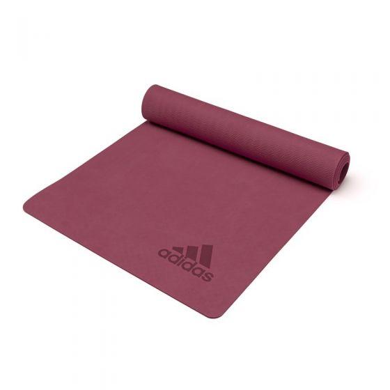adidas - 高級瑜珈墊 - 5mm - 紅寶石色 ADYG-10300MR