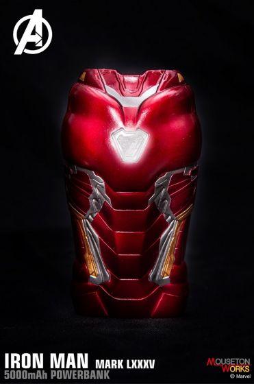 Marvel - Ironman Mark85 外型外置充電器 (5000mAh)