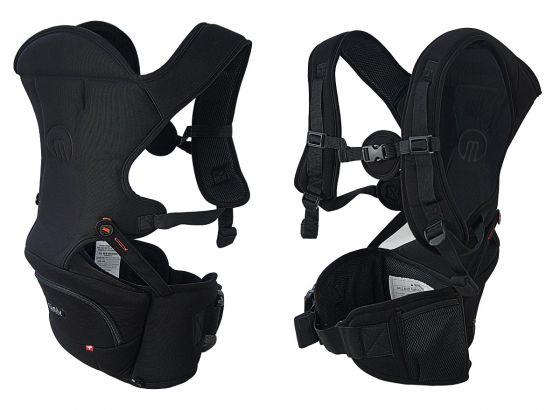 MiaMily瑞米莉- HIPSTER™ Essential 便攜型 3D 嬰兒背帶 (牛仔藍)