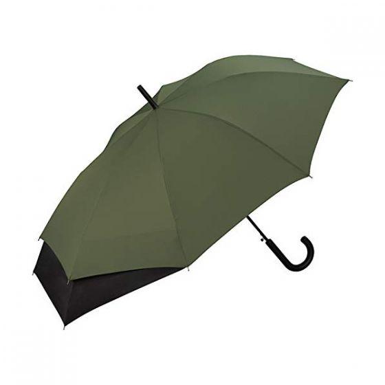 W.P.C. 日本防背包及背部弄濕半自動長雨傘 (卡其色) MSU-031