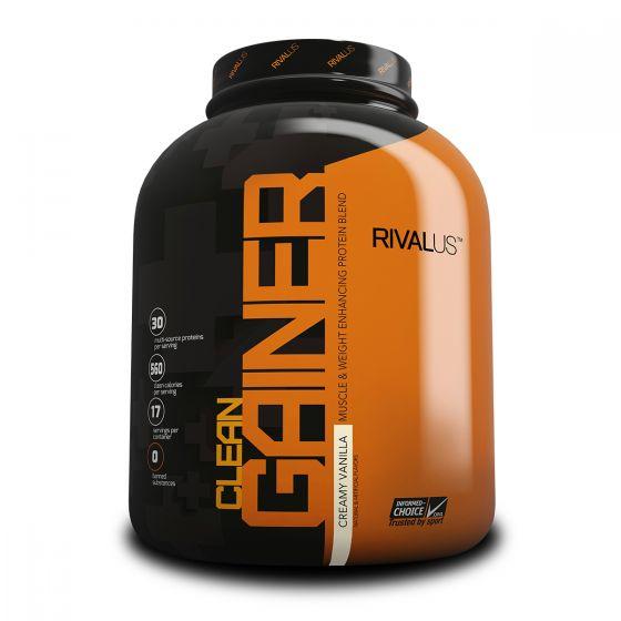 Rivalus Clean Gainer 5磅增肌粉 - 濃滑雲呢拿 RVLCGMGPCVAN5LBS