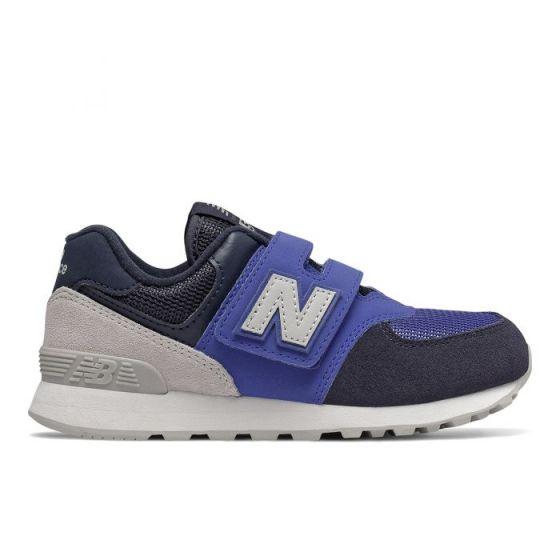 New Balance Sport Lifestyle Boys 574 Summer Sport - 藍色/ 復古紅色 YV574JHSW