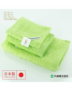 Imabari Zero Twist SUPIMA Cotton Towel (Green) 00700SUIMA-GREEN