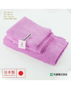 Imabari Zero Twist SUPIMA Cotton Towel (Pink) 00700SUIMA-PINK