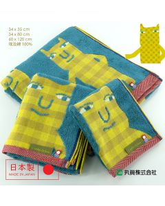 Imabari Egyptian Cotton Jacquard Towel 03050EGYPTIANCAT
