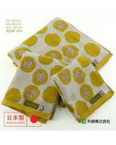 Imabari Egyptian Cotton Jacquard Towel 00305ZERONUT