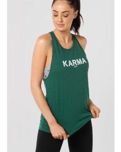Lorna Jane Karma 女士運動背心綠色