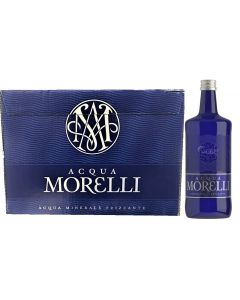 [Full Case] Acqua MorelliPremium Mineral Water; Sparkling 750ml x 12